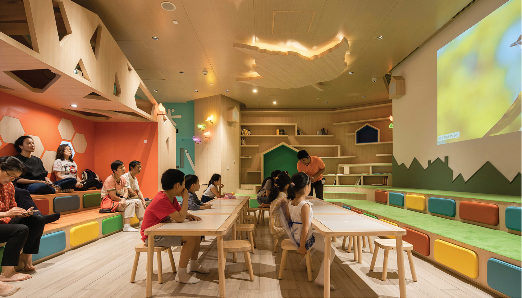SPARK completes new family social space in retail mall